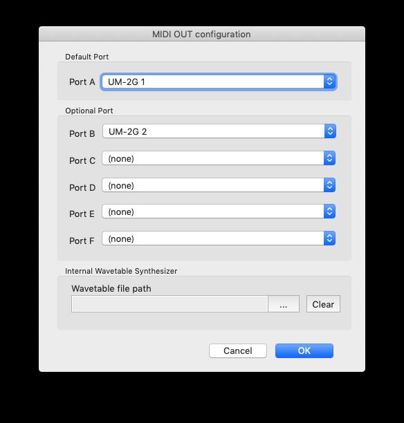 MIDITrail Ver 1 2 6 for macOS User Manual